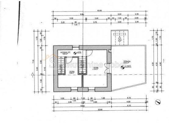 House, 110m², Plot 166m²