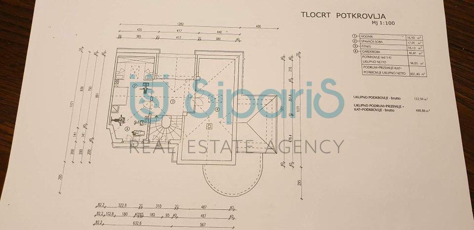 House, 400m², Plot 850m²