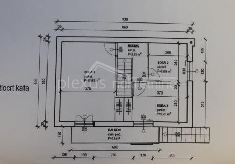 House, 100m², Plot 324m²