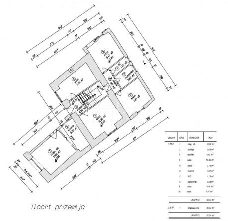 House, 140m², Plot 115m²